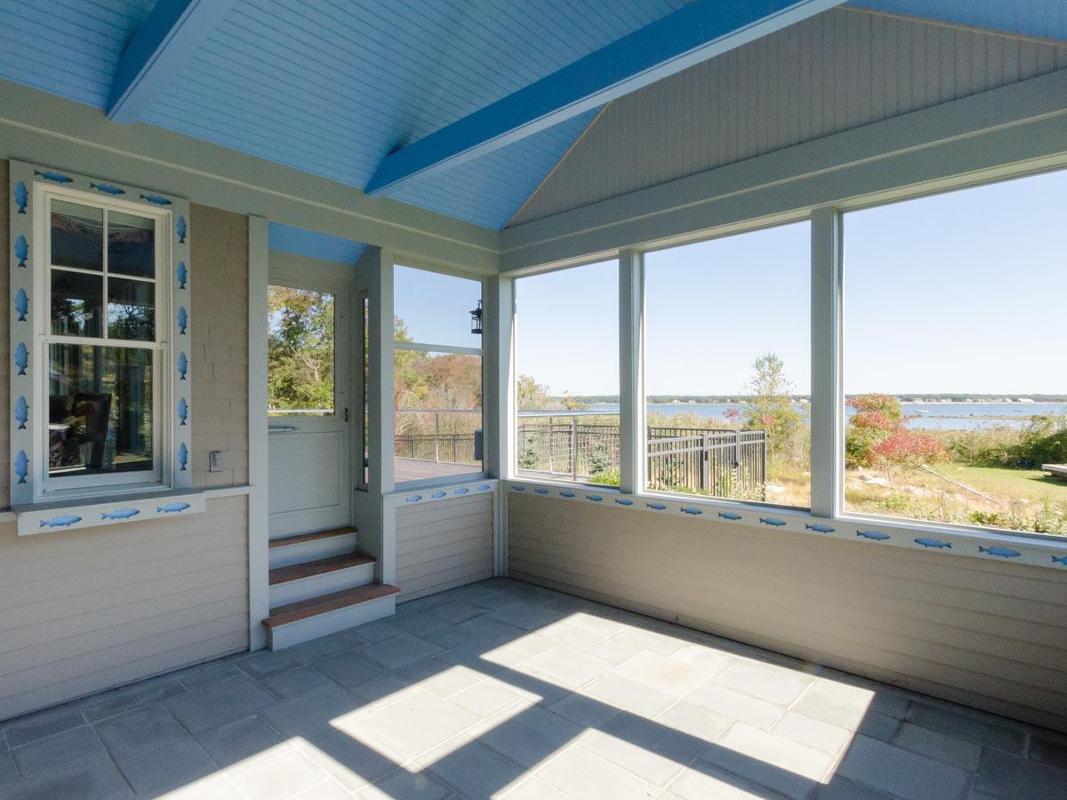 porch enclosure vinyl rooms season mainely three