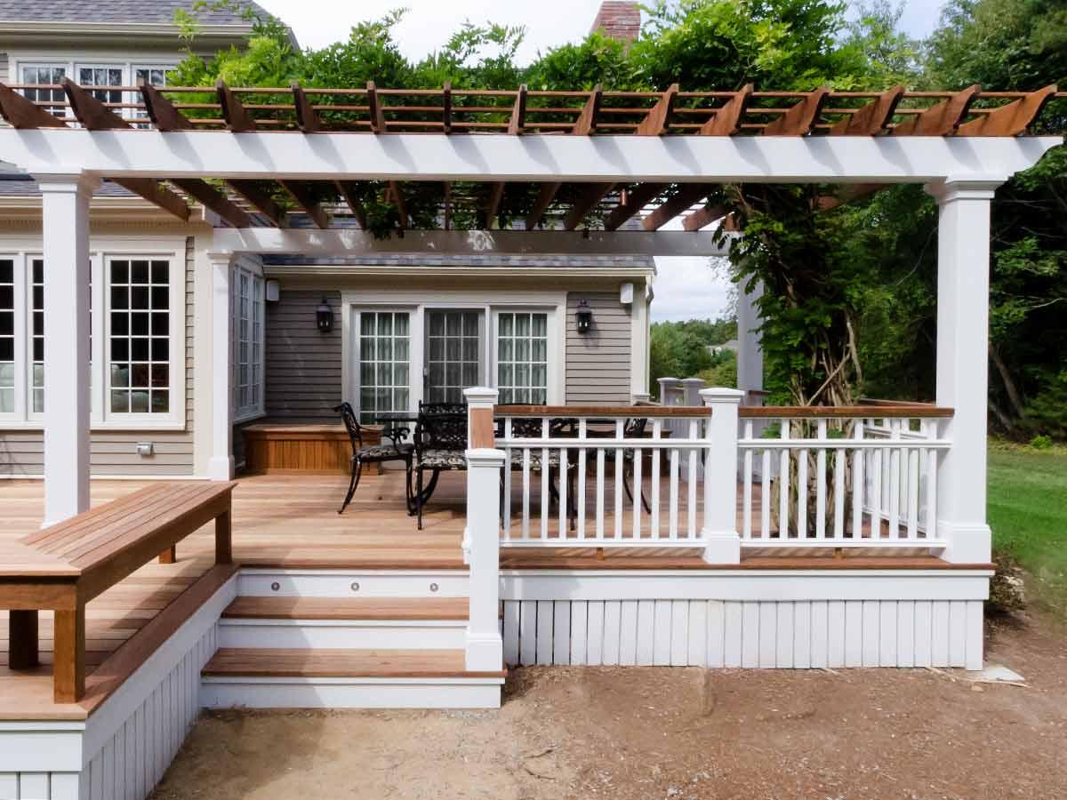 decks outdoor spaces pimental contractors